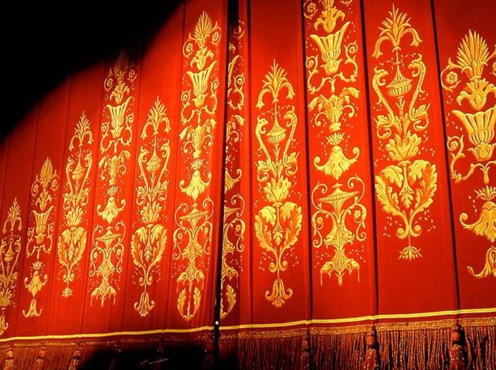 Cortinas De Teatro Vector
